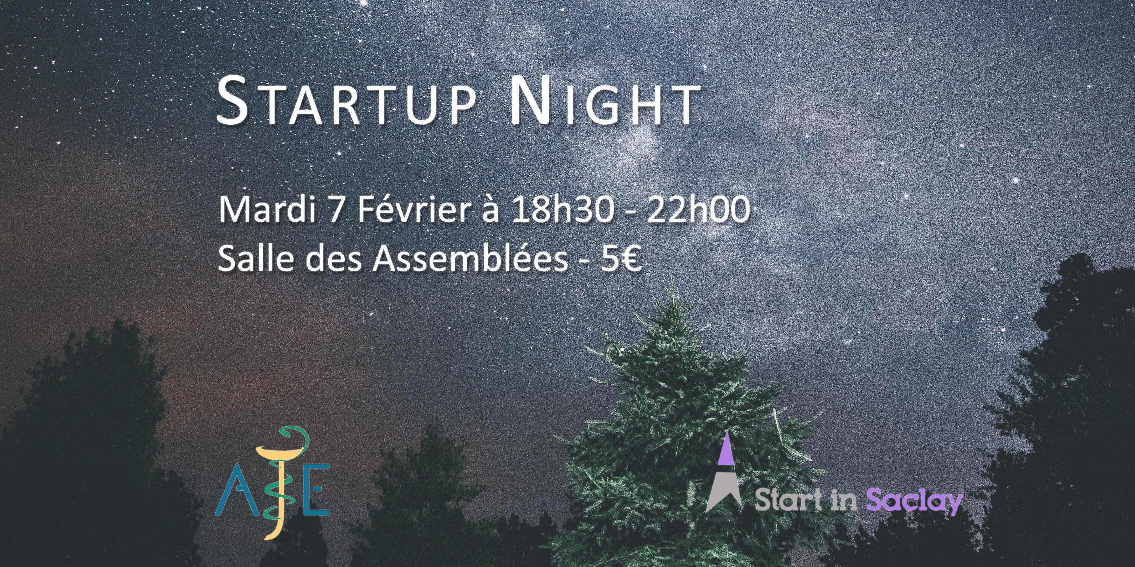 Startup Night Santé à la fac de Pharma
