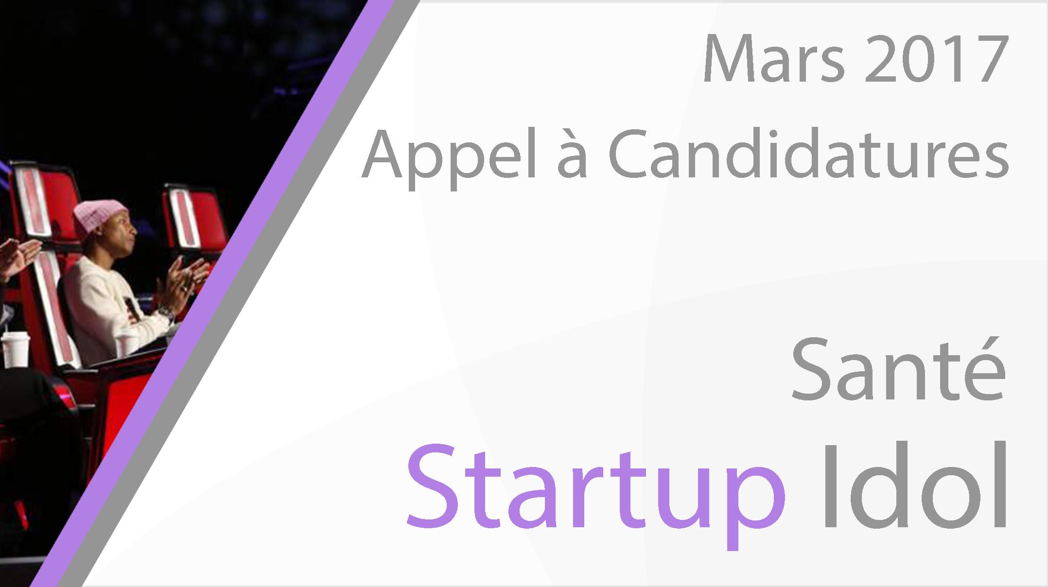 Candidatures Startup Idol Santé